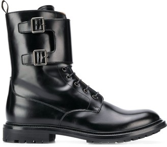 Church's lace-up combat boots