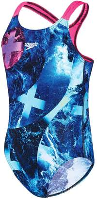 Speedo Girls Sea Storm Medalist One Piece Swimsuit