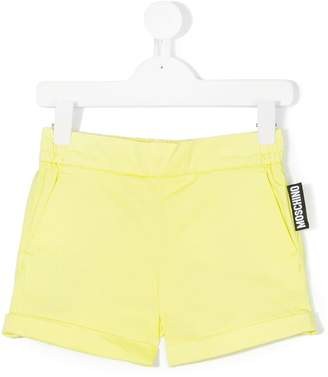 Moschino Kids elasticated waistband shorts
