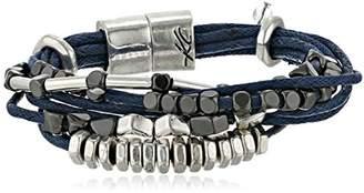 Kenneth Cole New York Bar Harbor Mixed Bead Multi-Row Cord Bracelet