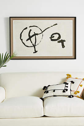 Anthropologie Guitar and Drums Wall Art