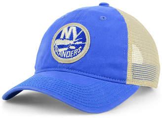 adidas New York Islanders Sun Bleached Slouch Cap