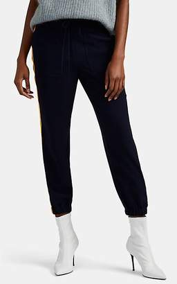 Derek Lam 10 Crosby Women's Striped Crepe Jogger Pants - Navy