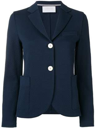 Harris Wharf London waffle knitted blazer jacket