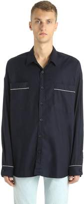 Fear Of God Fluid Cotton & Silk Shirt