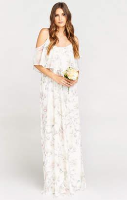 Show Me Your Mumu Caitlin Ruffle Maxi Dress ~ Forever Vine