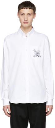 Versus White Safety Pins Shirt