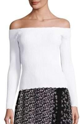 Rag & Bone Kari Off-The-Shoulder Pullover