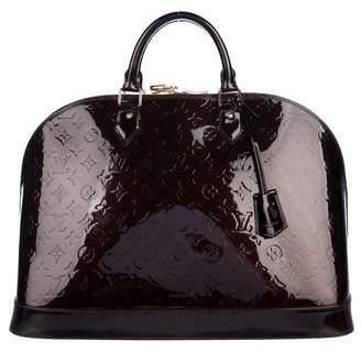 Louis Vuitton Vernis Alma GM XL