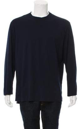 Brunello Cucinelli Long Sleeve Crew Neck T-Shirt