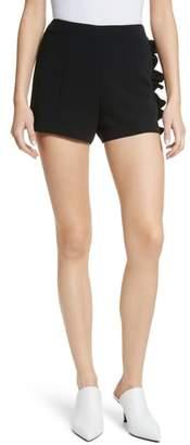 Cinq à Sept Kenzie Ruffle Side Shorts