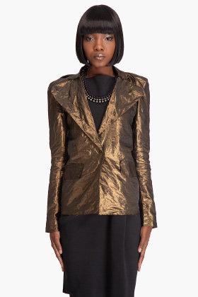 Lanvin Gold Blazer