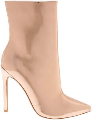 Steve Madden Wagner Rose Gold Boot