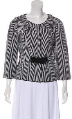 Christian Dior Wool Herringbone Jacket