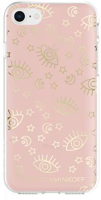 Rebecca Minkoff Metallic Galaxy Icon iPhone 7/8 & 7/8 Plus Case