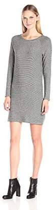 Velvet by Graham & Spencer Women's Cozy Jersey Stripe Dress