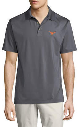 Peter Millar Men's University of Texas Longhorns Solid Polo Shirt