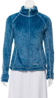 Marmot Mock Neck Zip-Up Sweater