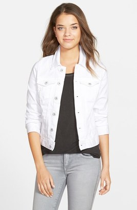 Women's Ag 'Robyn' Denim Jacket $198 thestylecure.com