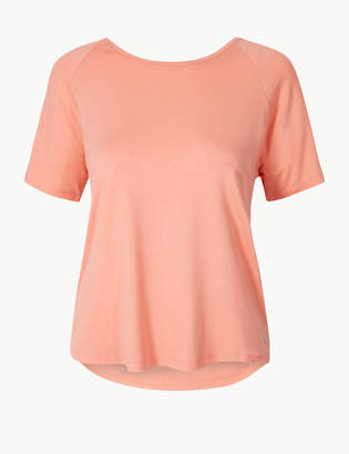 Marks and Spencer Quick Dry Round Neck Sport Top