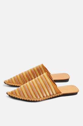 Topshop Womens Kooper Pointed Mules