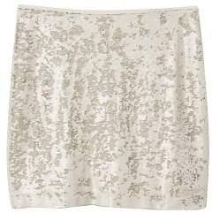 Violeta BY MANGO Reversible sequin skirt