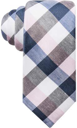 Ryan Seacrest Distinction Men's Cyprie Check Slim Tie