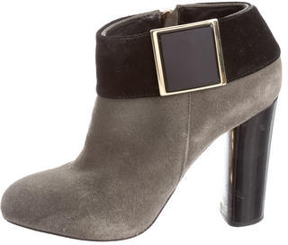 Tory BurchTory Burch Suede Ankle Booties