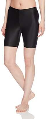 Janestyle (ジェーンスタイル) - [ジェーンスタイル] トレーニングウェア マルチレイヤードスパッツ3分丈 [レディース] JSFC1083 ブラック (90) S