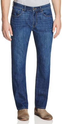 PAIGE Federal Slim Fit Jeans in Caleb $209 thestylecure.com