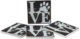 Thirstystone Love Pets 4-Pc. Coaster Set