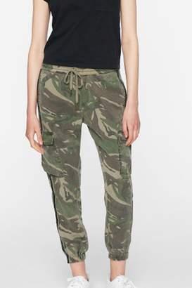 Pam & Gela Side-Stripe Cargo Pant