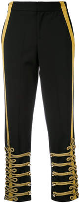 A.F.Vandevorst straight military trousers