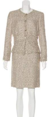 Chanel Lesage Tweed Skirt Suit