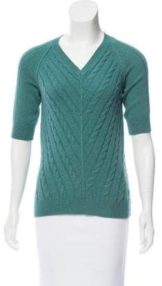 Etro Cashmere Cable Knit Sweater
