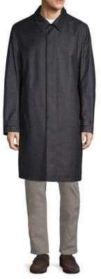 Canali Reversible Trench Coat