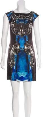 Just Cavalli Printed Silk Dress