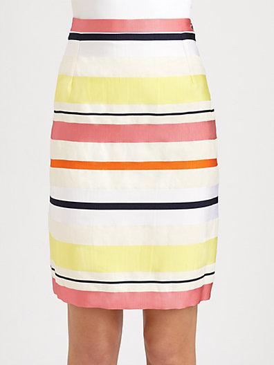 Max Mara Weekend Carabo Striped Skirt