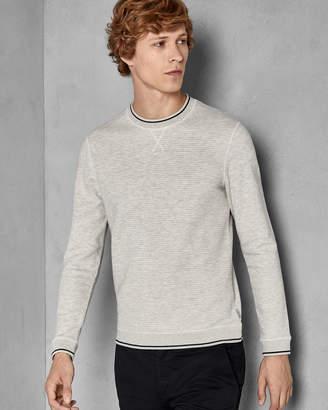 Ted Baker MAGIICS Marl crew neck sweatshirt