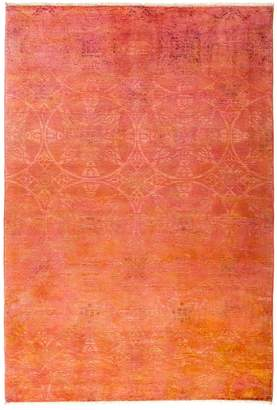 Solo Rugs Vibrance Overdyed Area Rug, 6'3 x 9'1