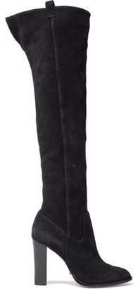 Schutz Suede Over-The-Knee Boots
