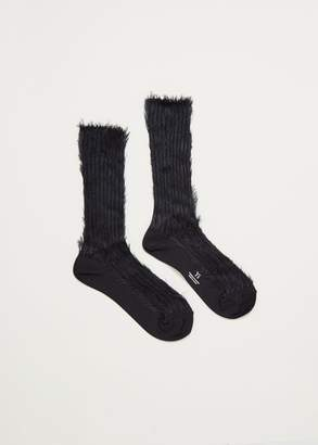 Yohji Yamamoto Y's by Inside-Out Rib Socks