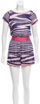 Missoni Striped Knit Romper