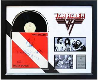 Luxewest Van Halen Signed Album