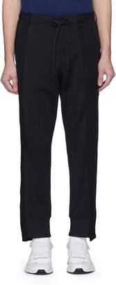 Y-3 Panelled jogging pants