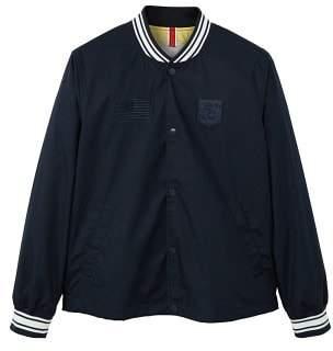MANGO Contrast edges bomber jacket