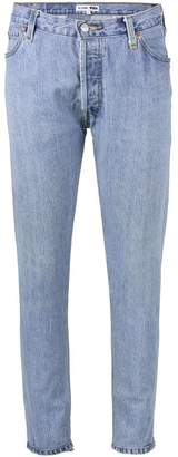 RE/DONE Levi's Blue high waisted skinny jeans