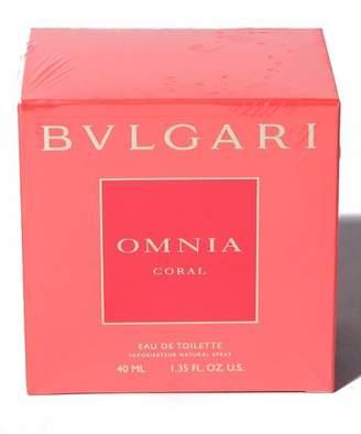 Bvlgari Import Super Bargain 【 】オムニア コーラル オードトワレ 40mL