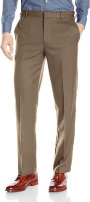 Arrow Men's Aroflex Flat Front Straight Fit Pant