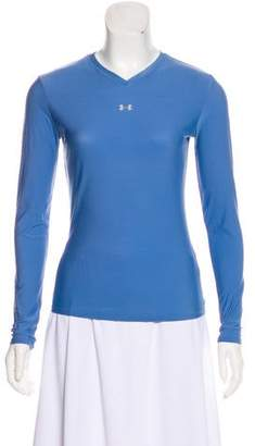 Under Armour Long Sleeve V-Neck Top